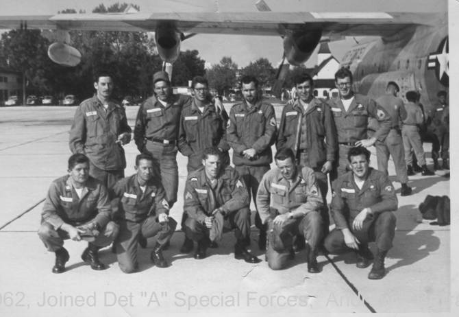 "Detachment ""A"" 1962"