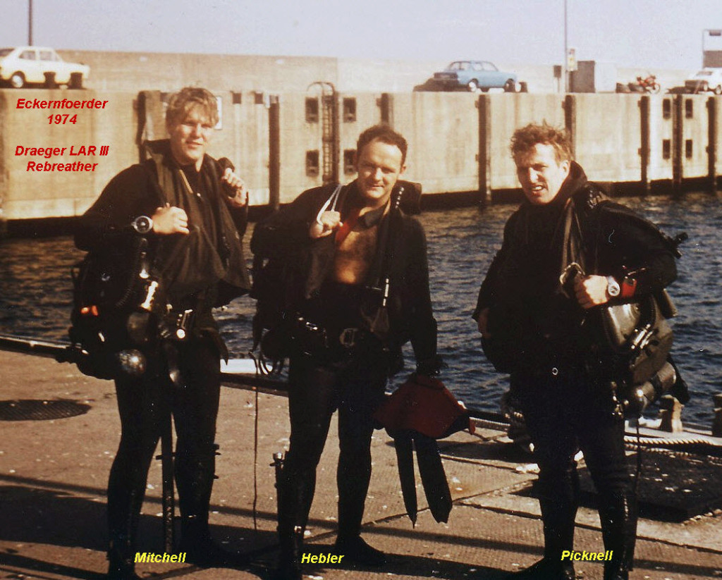 German Dive School Mitchell, Hebler & Picknell